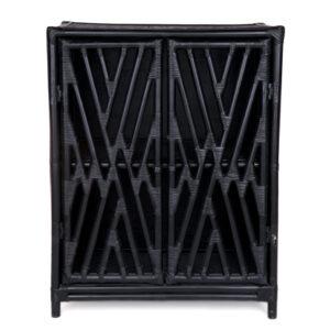 Black 2 Door cabinet DET371B