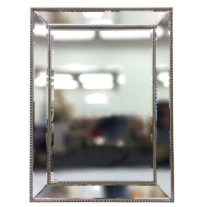 Bevel edge wall mirror