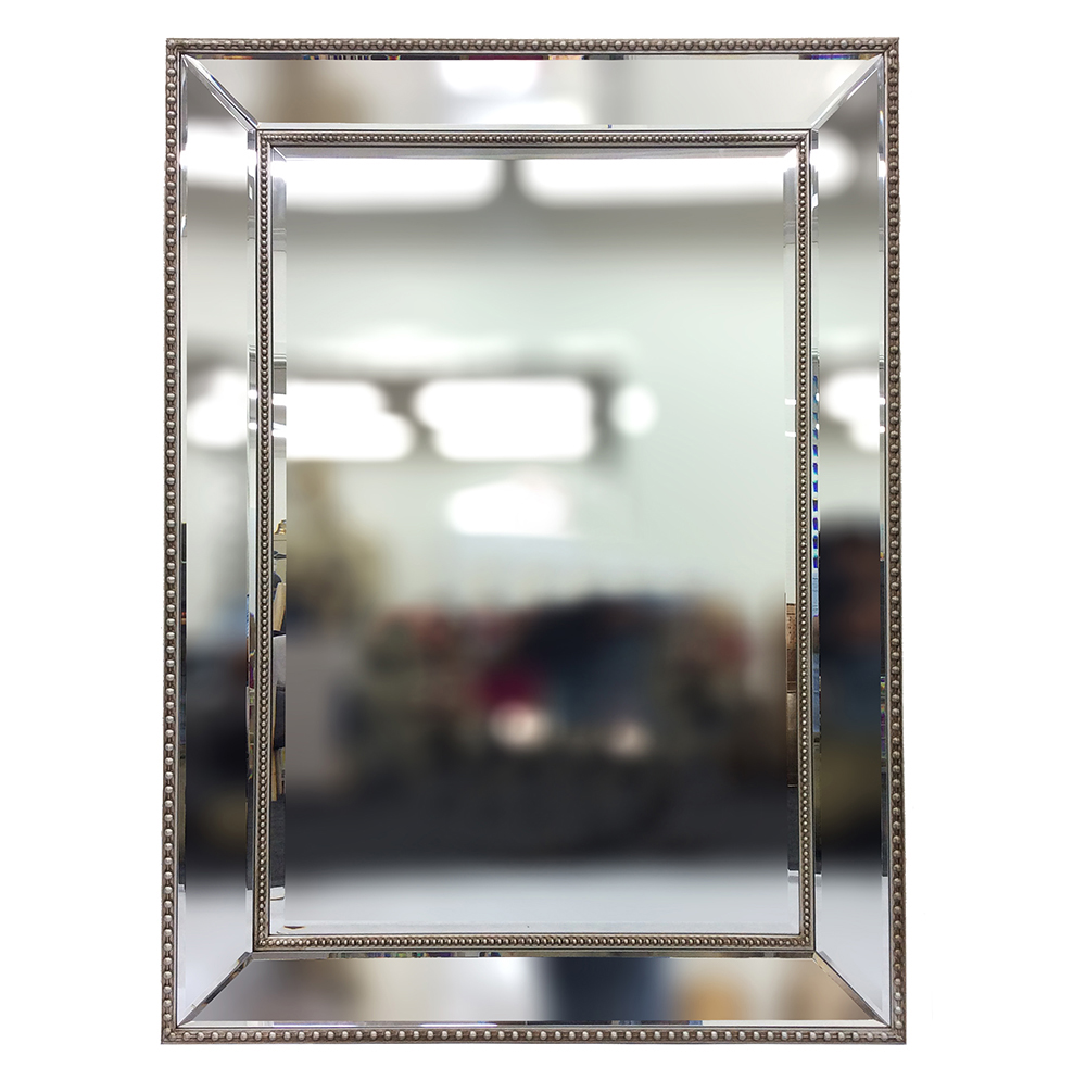 High Quality Silver Framed Wall Mirror - Humble Home