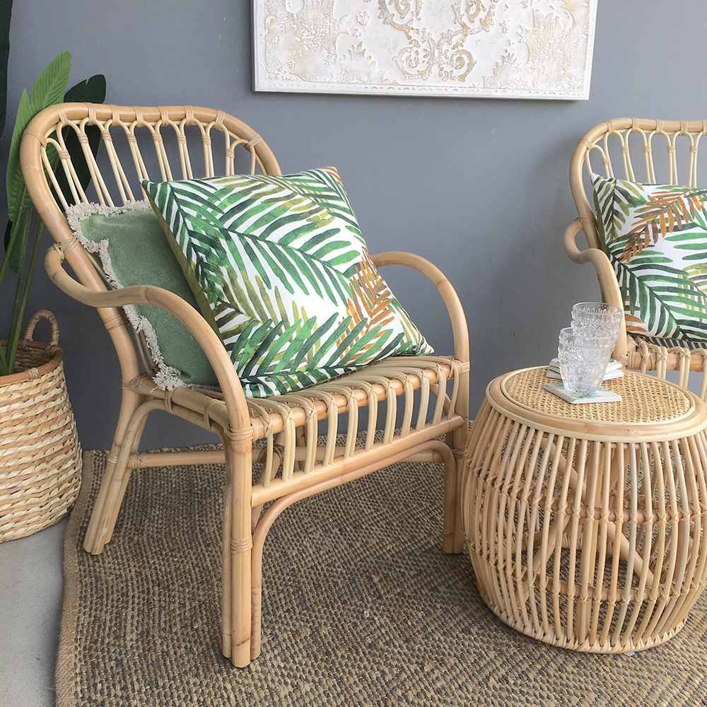 Rattan Armchair Natural Humble Home