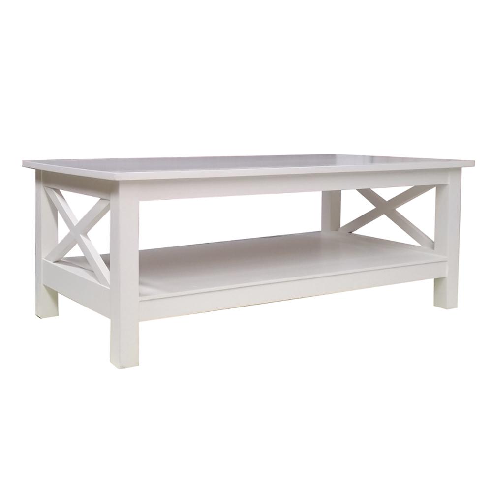 - Jenna Coffee Table - White - Humble Home