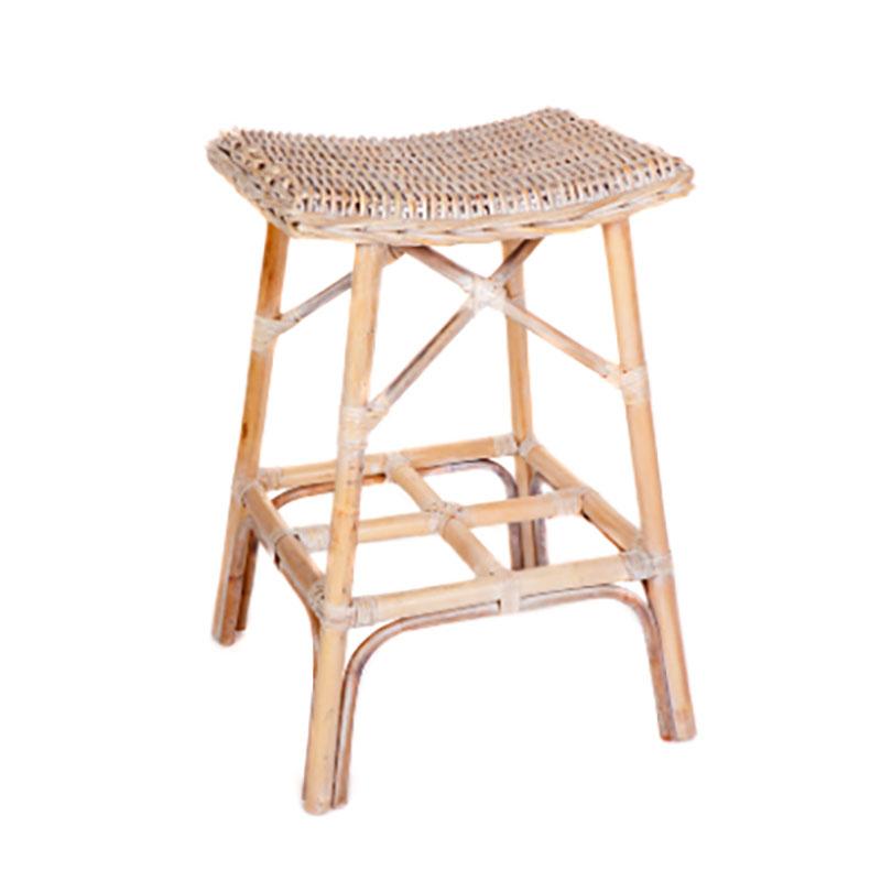 brand new adf77 9c95e Details about Ivy Whitewash Rattan Barstool/Bar Stool/Bar Chair/Kitchen  Stool/Hamptons/Coastal
