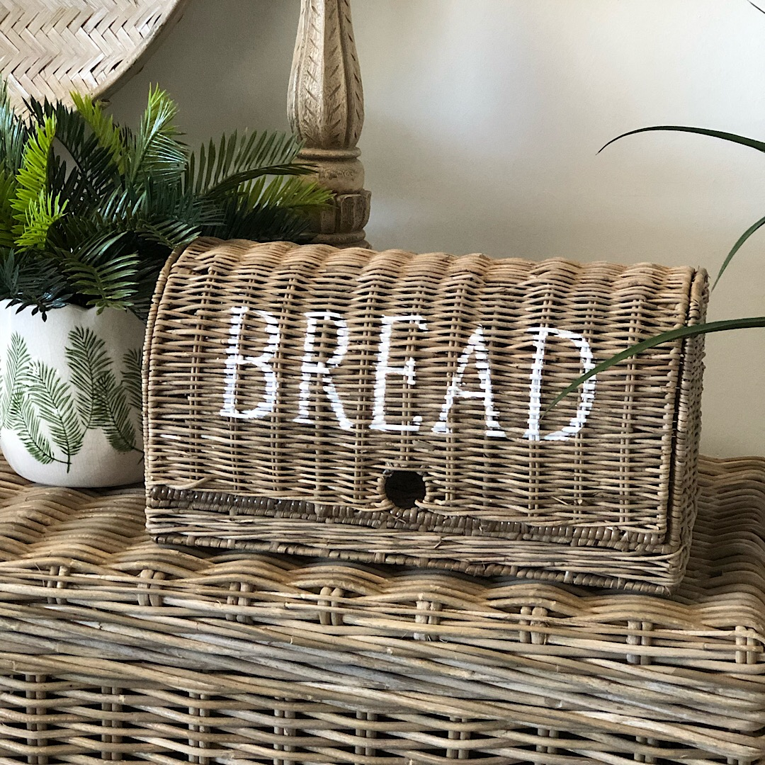 Picture of: Rattan Bread Storage Basket Small Humble Home