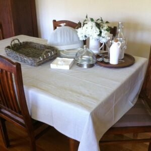 Superior-Quality-Ecru-LINEN-Tablecloth-100-Cotton-8-SeaterNatural-141883783737-5