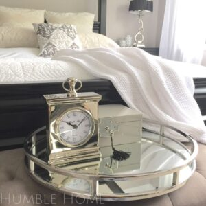 STUNNING-49cm-Mirror-Round-Silver-TrayGlamorous-Coffee-Table-TrayHamptons-141943259688